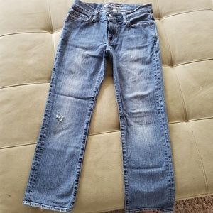 Abercrombie & Fitch distressed jeans size 2